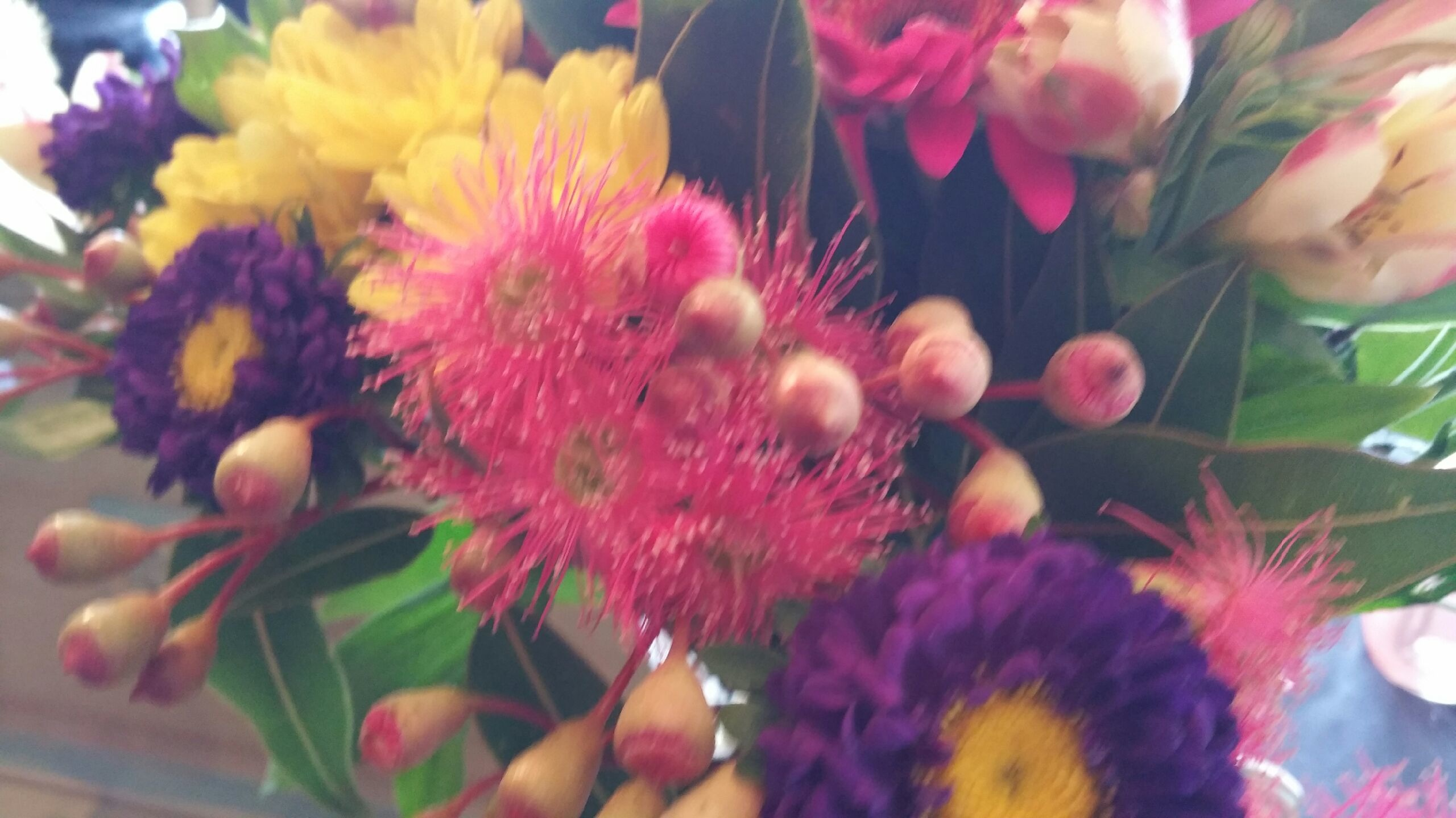 Forget Me Not Mudgee's beautiiful Native flower arrangement.
